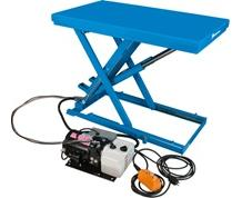 Bishamon Lo-Profile Electric-Hydraulic Scissor Lift Table