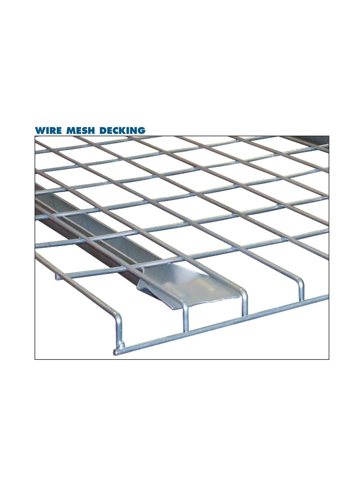 Jaken Pallet Rack Wire Mesh Decking | Indoff, Inc.